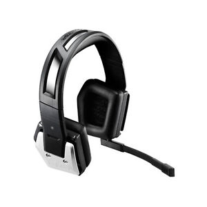 Coolermaster / CM Storm SGH-4330-KATA1 Pulse-R gaming headset  - aluminum adjustable headband , aluminum plating with white illuminated groovves - 42mm drivers , with detachable noise-cancellation mic , 2 sets of pads included ( Micro fiber for comfort  L