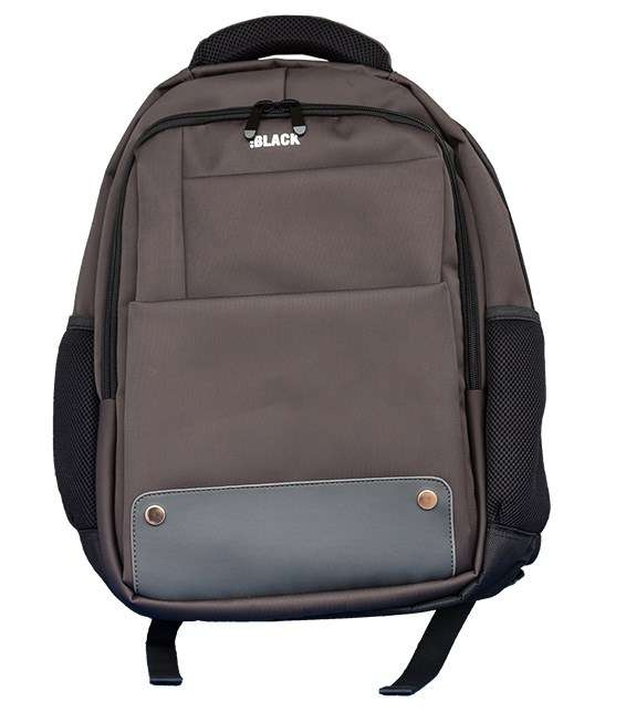 BLACK  DESIGNER BACKPACK 15.6