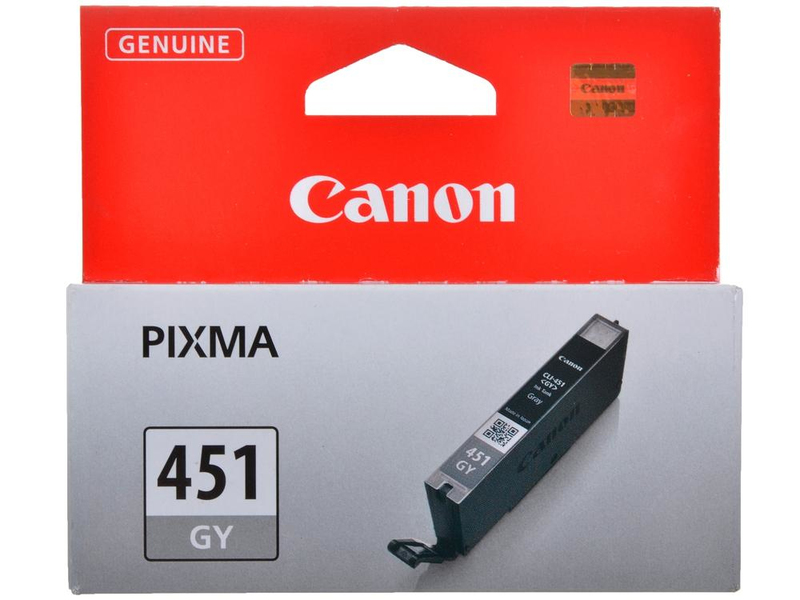 Canon CLi-451Gy grey ink - 780pages - for pixma iP7240, MG6340 , MG7140, MX924