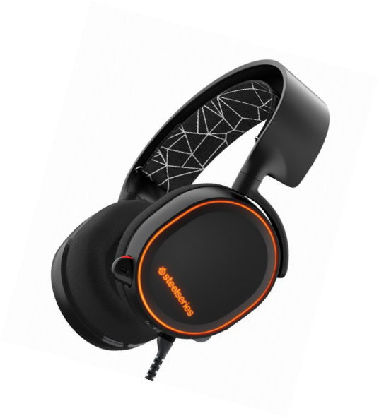 Steelseries Arctis 5 blacK 7.1 DTS:X surround sound headset