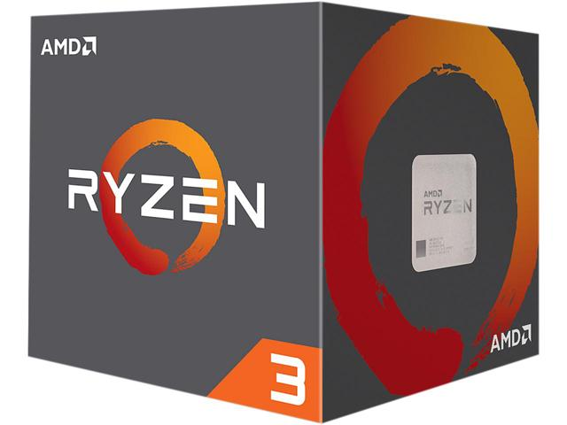 Ryzen3 1200 - 4 cores ( 3.1ghz box cpu  / 3.4ghz turbo core )