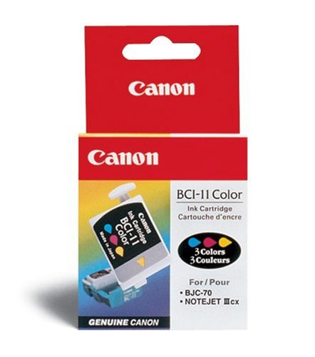 canon BCi-11C color ink - for BC-11Ebubblejet 50, 55, 70, 80, 85