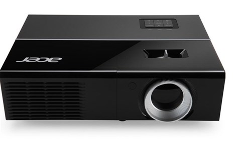 Acer P1273 Projector - DLP 3D XGA - 3000 ANSI Lumens, 17000:1 Contrast, nVidia 3D, Auto Keystone, Bag  Remote - Supports Wireless Dongle