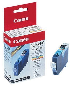 canon bci-3e PC photo cyan ink - for ink-tank BC-34BJC-3000, 6000, 6100, 6200, 6500S400, S450, S4500Multipass C100