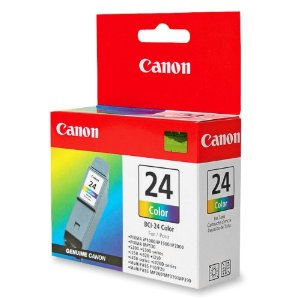 canon bci-24c color ink , 170 pages - for i250, i320, i350, i450, i455, i470D, i475D  s200, s200x, s300, s300 photo  ip1000, ip1500, ip2000  mp110, mp130, mp360, mp370, mp390  mpc190, mpc200