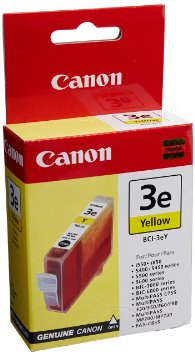 canon bci-3eY yellow ink - for ink-tank BC-33s400, s450, s4500, s500, s520, s530, s600, s630, s6300, s750BJC-3000, 6000, 6100, 6200, 6500smartbase MP700, MP730, MPC400, MPC600FMultipass C100i550, i6500, i850