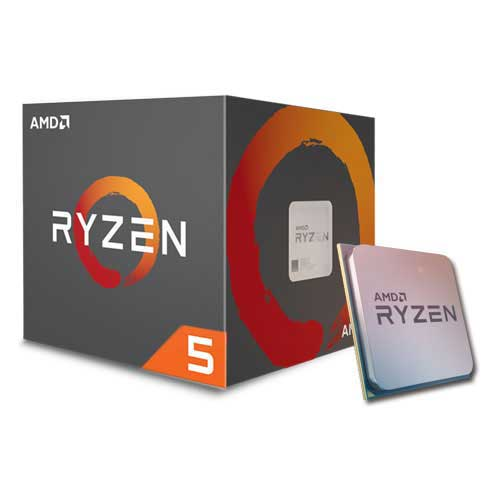 Amd Ryzen 5 1600 - 6 cores / 12 threads ( 3.2ghz box cpu  / 3.6ghz turbo core )