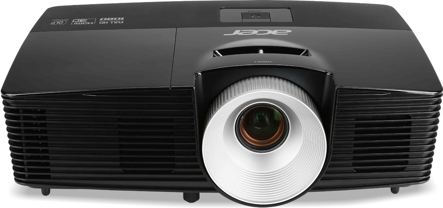 Acer P1510 Full HD Projector - Resolution: 1920 x 1080 - 3500 ANSI Lumens, 10000:1 Contrast
