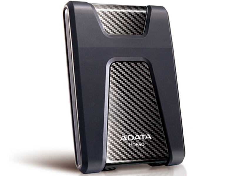 Adata HD650 series , 2Tb/2000Gb blacK , triple-layer construction with silicone material for shock resistant , with HDD transmission status LED , usb 3.0 (usb2.0 backward compatible ) , usb-powered , 132x99x21.5mm , with OStoGO  HDDtoGo utilities  60days