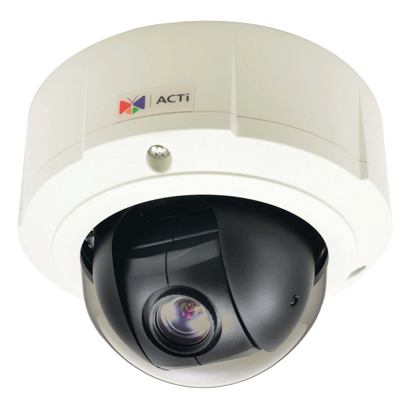 ACTI 2MP MINI-PTZ 10X WDR IP67 IK10