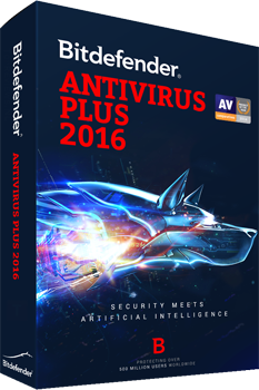 BITDEFENDER 2016  ANTIVIRUS 1 USER