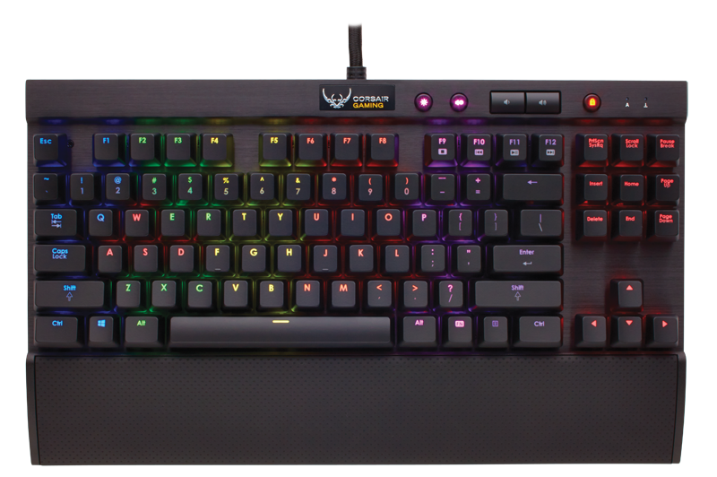 Corsair K65 RGB - mx ReD