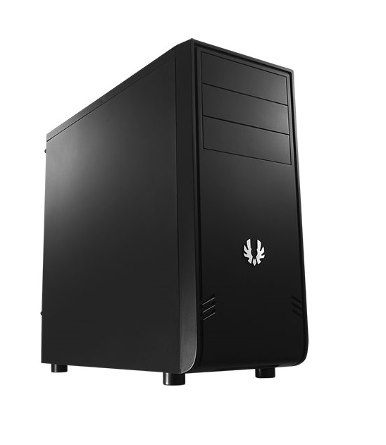 Bitfenix BFC-COM-100-KKXS1-RP COMrade - blacK , SofTouch surface treatment , no psu ( bottom placed  multi-direction psu design ) , support 300mm long card  2x usb 3.0  2x usb2.0  audio in/out - 3x 5.25 external , 3x 3.5 internal , 3x 2.5 internal - 1x 12