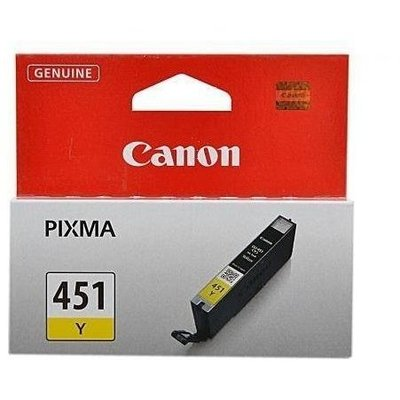 Canon CLi-451Y yellow ink - 329pages - for pixma iP7240, MG5440, MG5540, MG6340, MG7140, MX924