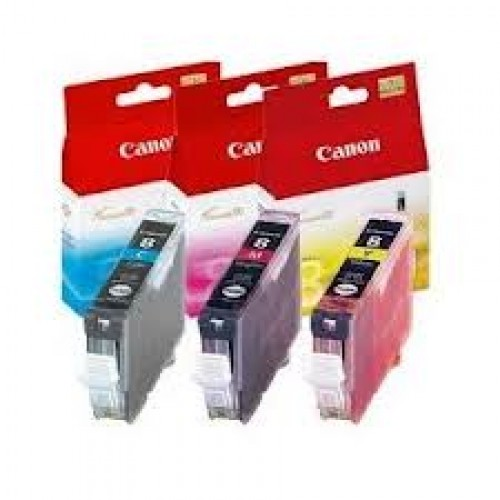 Canon CLi-426C/M/Y CyanMagentaYellow ink multi-pack - for pixma ip4840, iP4940MG5140, MG5240, MG5340, MG6140, MG6240, MG8140, MG8240MX714, MX884, MX894