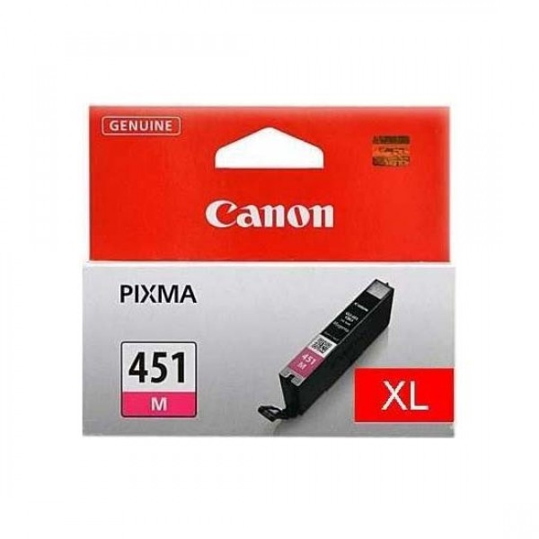 Canon CLi-451M XL magenta ink - 670pages - for pixma iP7240, MG5440, MG5540, MG6340, MG7140, MX924