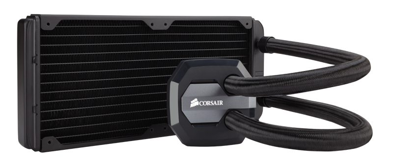 Corsair H100i GTX watercooling