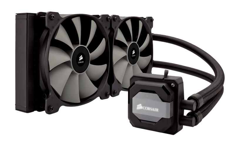 Corsair H110i GT water cooling