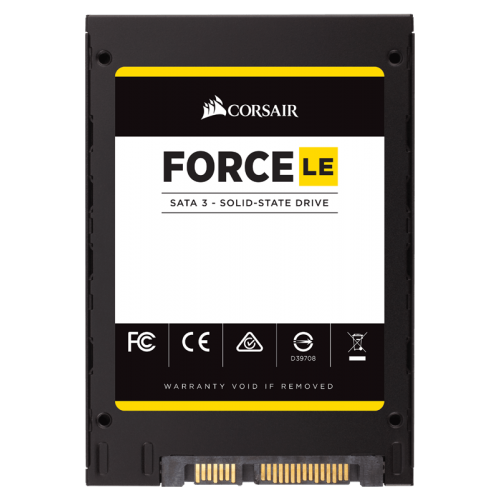 Corsair CSSD-F120GBLEB 120Gb Force LE series 2.5  SATA6G SSD , with Enhanced Error Correction ( SmartECCSmartRefresh )  with Power loss protection ( SmartFlushGuaranteedFlush technologies ) , AES-256 security , Phisons 3110-S10 Quad-core controller/8chann