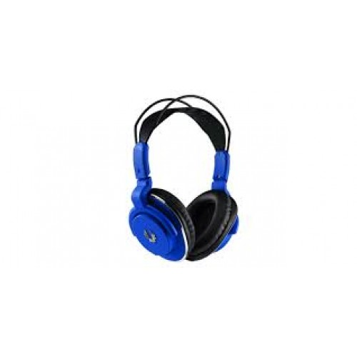 Bitfenix Flo gaming headset for PC/mobile device - bLue with SofTouch Surface Treatment - detachable uni-directional noise-filtering microphone , 40mm neodymium magnet drivers , with in-line volume control , 3.5mm 4-pole connector , 1m cable for mobile /