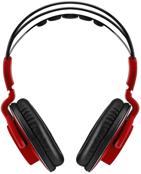 Bitfenix Flo gaming headset for PC/mobile device - Red with SofTouch Surface Treatment