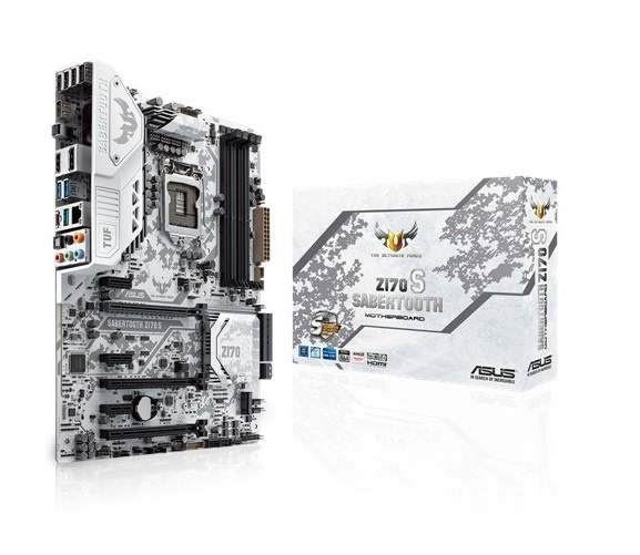 Asus Z170 Sabertooth S (white)