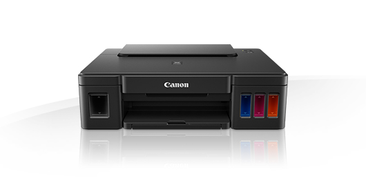 Canon pixma G1400 high yield single function printer , pigment black  dye colour inks with Integrated Ink tanks , 4 single ink , duplex printing  a4 , 4800x1200dpi  mono/color : 8.8/5 ipm , input : 100s rear tray - USB
