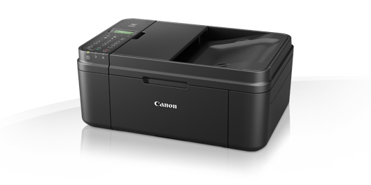 Canon pixma MX494 , printscancopyfax  support full HD movie print  cloud printing , WiFi network ready  print 4800x1200dpi  mono/color : 8.8/4.4ipm , 2pl Micro-Nozzles , 100s input tray  with 20pages ADF , scan 600x1200 / 19200dpi , 48/24bit  99 mutiple c