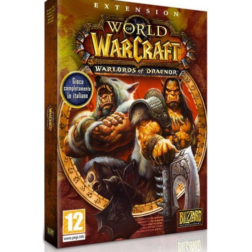 Blizzard World Of Warcraft  Warlords of Draenor - Instant Level 90 Character Boost  Pre-Purchase Key , require mist of pandoria expension set - retail pack