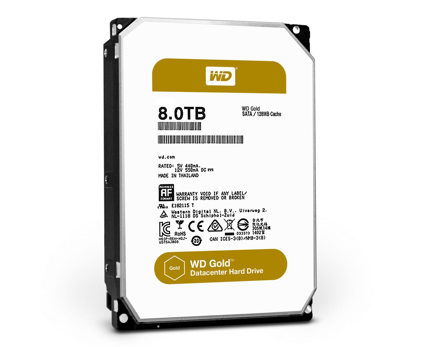 Western Digital Gold 8Tb/8000gb