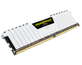 Corsair CMK16GX4M2B3200C16W vengeance Lpx with White low-profile heatsink , with 8-layer PCB , 8Gb x 2 kit - support Intel XMP ( eXtreme Memory Profiles ) , Ddr4-3200 ( pc4-25600) , CL16 , 1.35v - 288pin - lifetime warranty