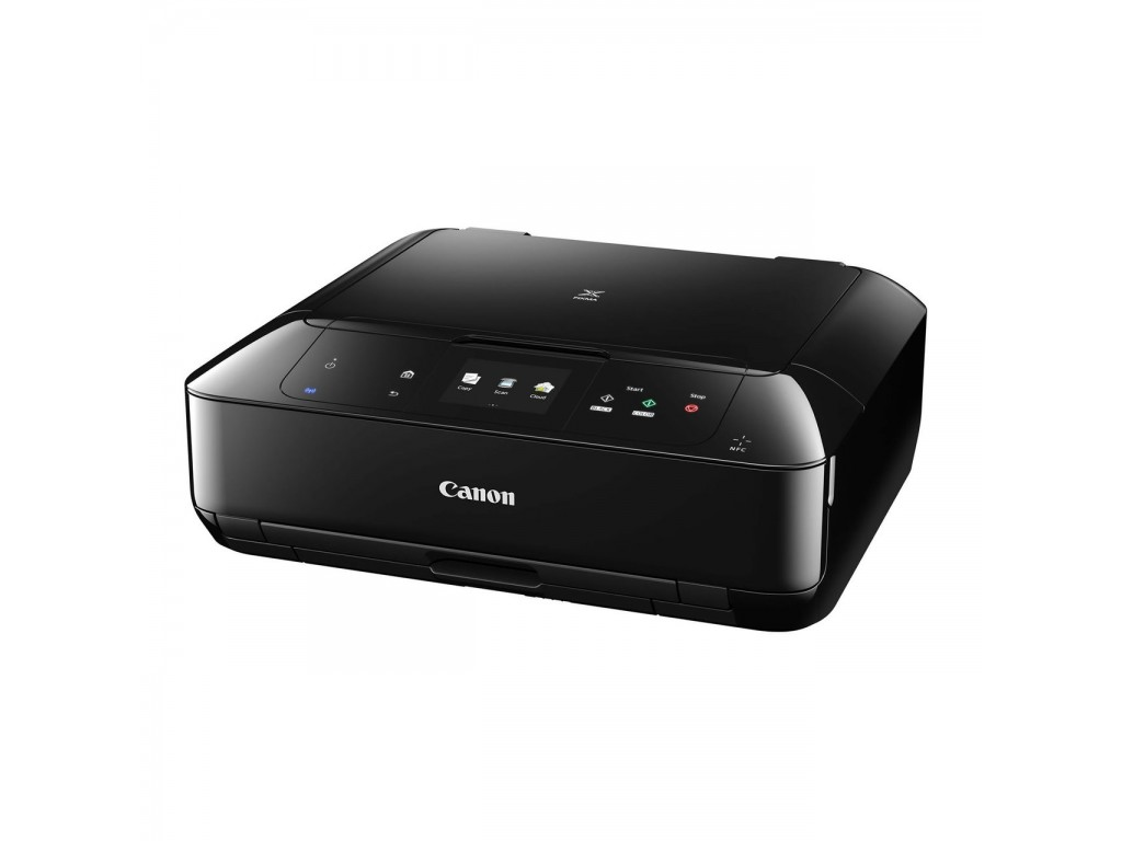 Canon pixma MG7740 blacK , printscancopyweb print , intelligent touch system with light-guided operation  , support full HD movie print  cloud printing -  wiredwireless network ready , duplex printing , 6 single ink , 8.8cm touch-screen LCD  print 9600x24