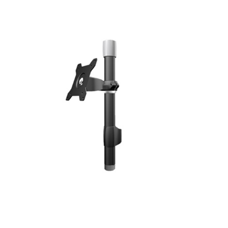 Aavara TSB12 - extended pole - add extra lcd for Ti011/TC011/Ti022/TC022/Ti110/TC110 - 20  tilt  swivel angle adjustable , 90 rotation pivot for landscape or portrait , height adjustable , with ExperTorque technology , smart cable management , aluminum al