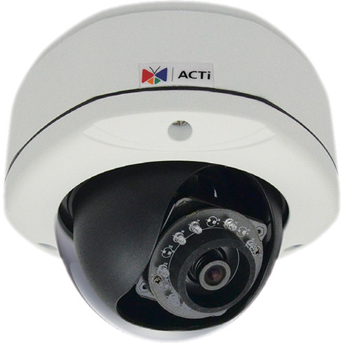 ACTI 1MP DOME FF IP67 IK 10