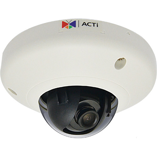 ACTI 1MP M-DOME FF H.264 POE IK 08