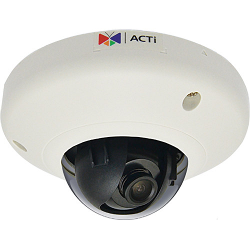 ACTI 3MP M-DOME FF H.264 POE IK 08