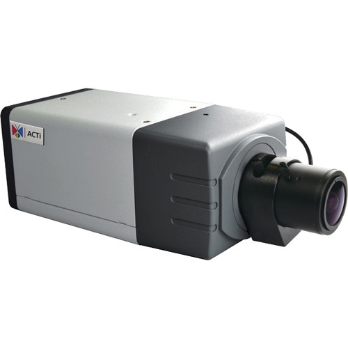 ACTI 5MP BOX 2.8-12MM LENS WDR POE