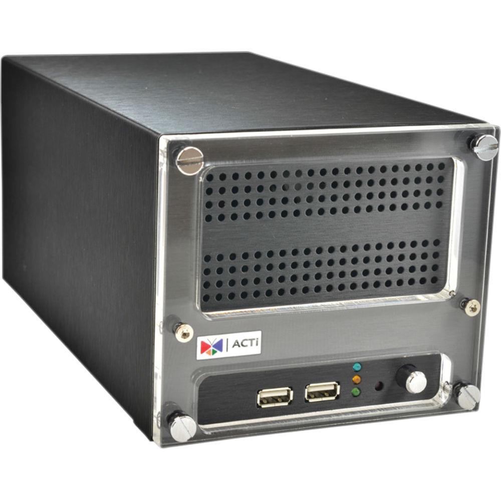 ACTI 9 CHANNEL NVR, UP TO 2X HDD, HDMI