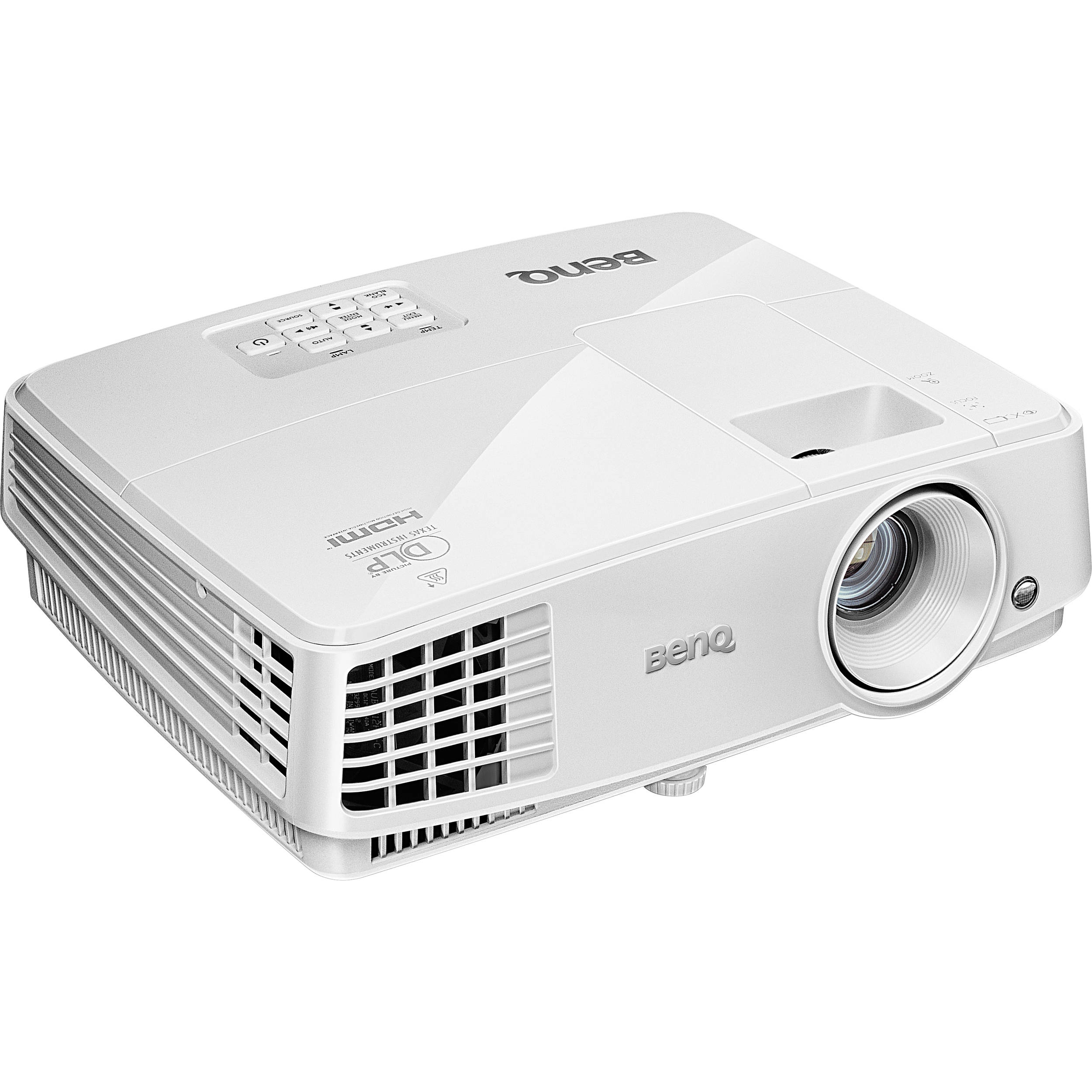 Benq Projector MX525      1024 x 768 Resolution, 3200 ANSI Lumens, 13000:1 Contrast Ratio,  HDMI, D-Sub, RCA, S-Video, Inputs, Remote control