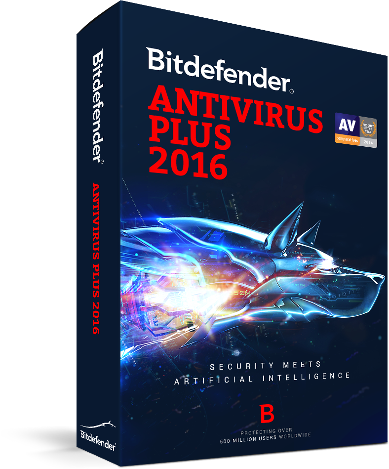 BITDEFENDER 2016  ANTIVIRUS 3 USER