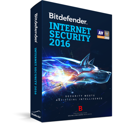 BITDEFENDER 2016  INTERNET SECURITY 3 USER