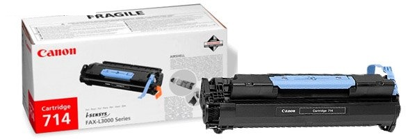 canon 714 Black toner , 4500pages - for canon laser fax-L3000 se