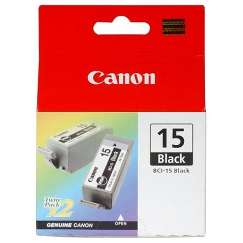 canon bci-15bk 2xblack ink - for Pixma iP90bubblejet i70, i80, ip90, ip90V