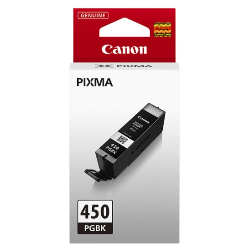 Canon PGi-450pgbk pigment black ink - 375pages - for pixma iP7240, MG5440, MG6340 , MX924