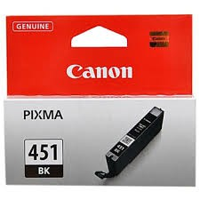 Canon CLi-451Bk black ink - 1645pages - for pixma iP7240, MG5440, MG5540, MG6340, MG7140, MX924