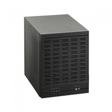 CFi B7846UM - 4 bay DAS external tower enclosure , no raid , meshed front door , removable hot-swap hdd tray , black , 4x 3.5 Sata to 1x Usb3.0 5Gbps ( usb2.0 backwards compatible ) , 80mm fan , 150w psu