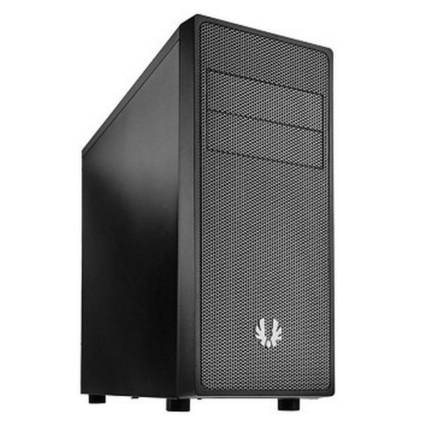 Bitfenix BFC-NEO-100-KKXKS-RP Neo - blacK  Silver mesh front panel , SofTouch surface treatment , no psu ( bottom placed  multi-direction psu design ) , support 300mm long card  1x usb 3.0  1x usb2.0  audio in/out - 2x 5.25 external , 1x 5.25 internal , 3