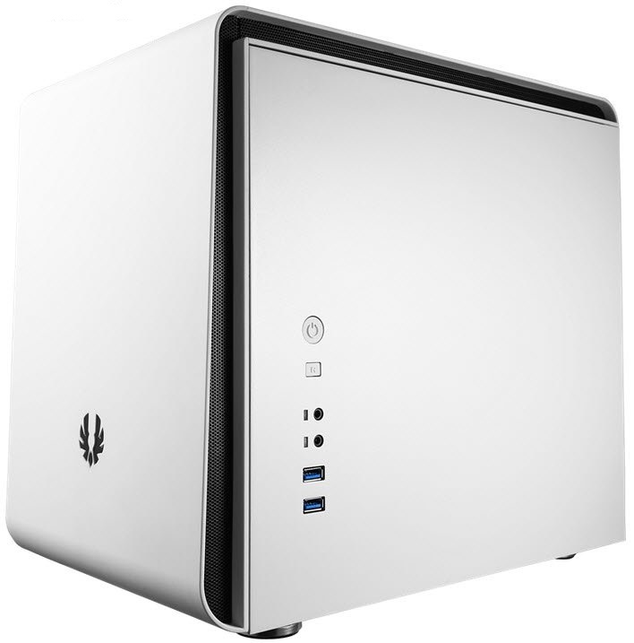 Bitfenix BFC-PHE-300-WWXKK PHenom White , 250x330x374mm mini-itx case , SofTouch surface treatment , no psu ( front/bottom placed )  2x usb 3.0  audio in/out , 2x pci slots - upto 6x 3.5 internal , upto 11x 2.5 internal - 2x 120mm fan upto 4 - mini-itx
