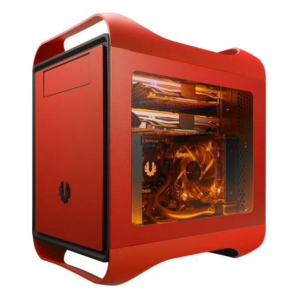 Bitfenix PRodigy-M Red Window