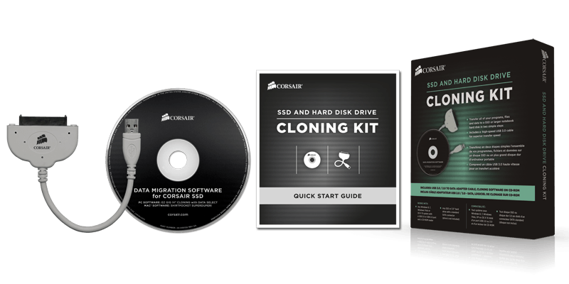 Corsair hdd/ssd Cloning Kit
